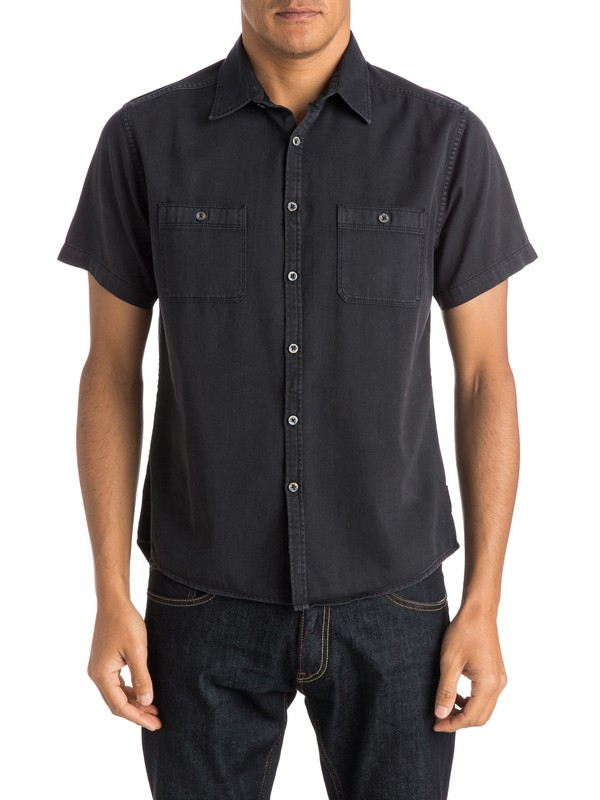 0 The Bite Back Short Sleeve Shirt  EQYWT03280 Quiksilver