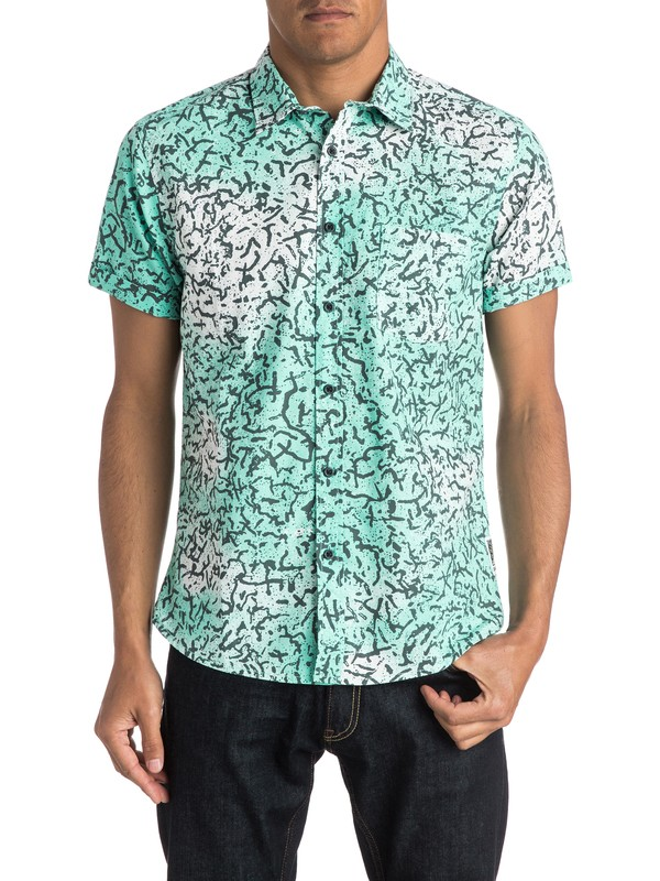 0 Cracked Shirt - Camisa de mangas cortas  EQYWT03300 Quiksilver