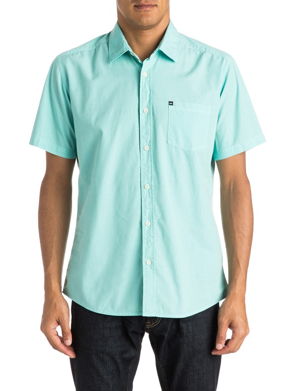 0 Everyday Solid Short Sleeve Shirt  EQYWT03302 Quiksilver