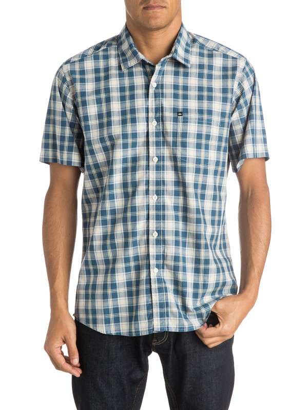 0 Everyday Check - Short Sleeve Shirt  EQYWT03335 Quiksilver