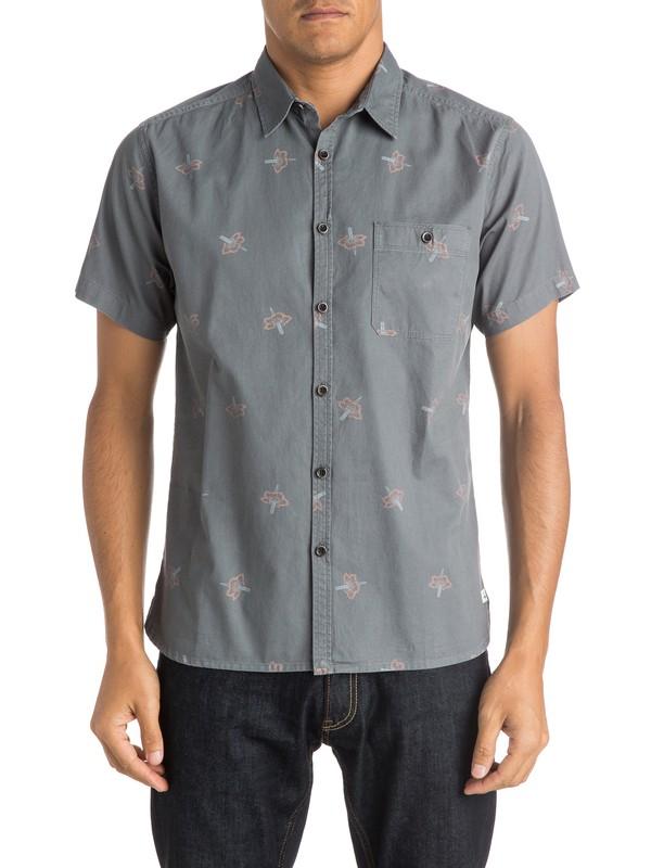 0 Daggering Twill  Shirt  EQYWT03340 Quiksilver