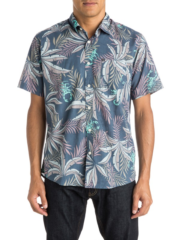 0 Everyday Before Dark - Chemise manches courtes  EQYWT03350 Quiksilver