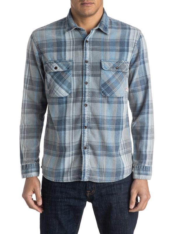 0 Happy Flannel Long Sleeve Shirt  EQYWT03352 Quiksilver