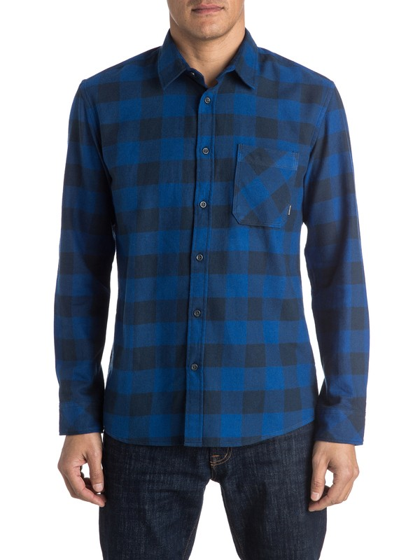 0 Motherfly Flannel Long Sleeve Shirt  EQYWT03368 Quiksilver