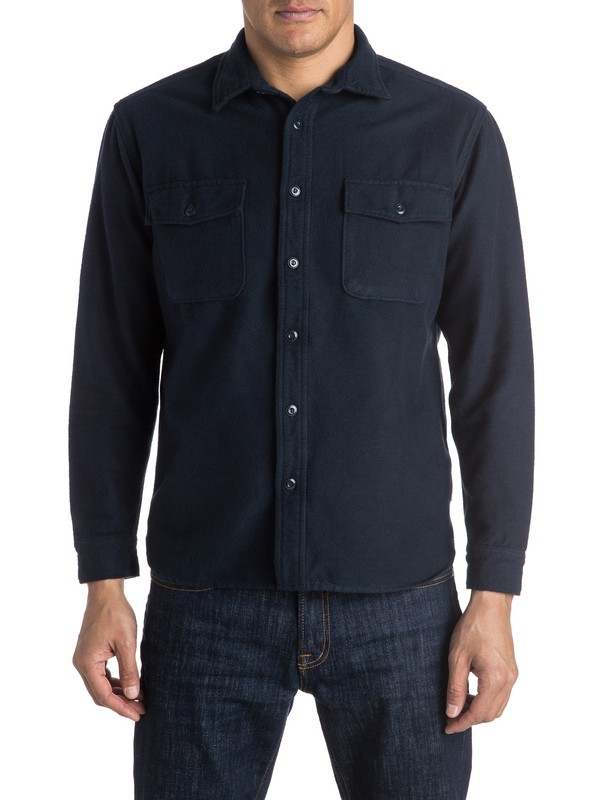 0 The Flannel Long Sleeve Shirt  EQYWT03369 Quiksilver