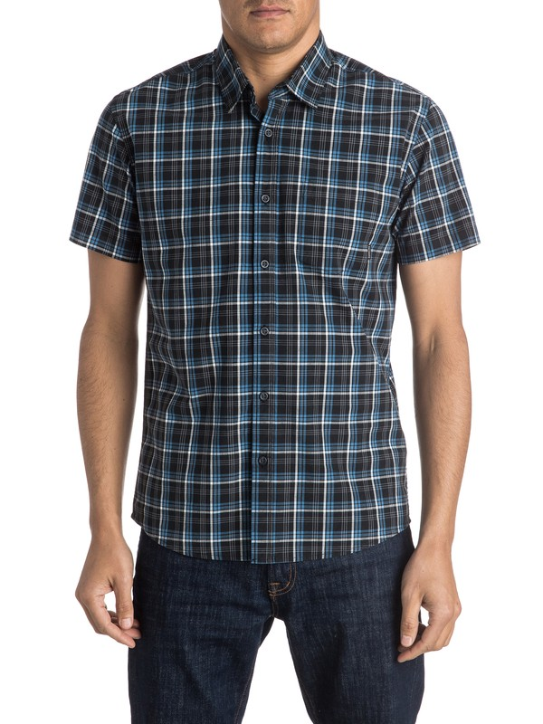 0 Everyday Check Short Sleeve Shirt  EQYWT03372 Quiksilver