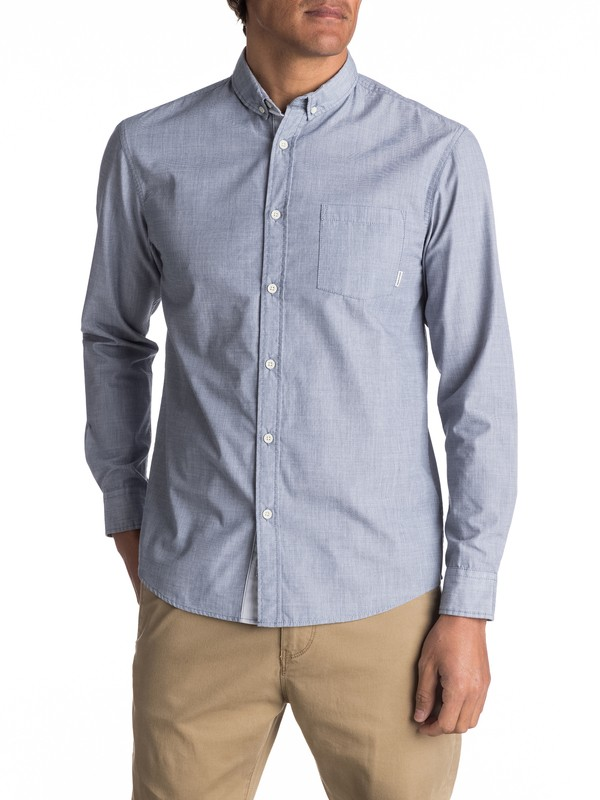 0 Everyday Wilsden Long Sleeve Shirt  EQYWT03378 Quiksilver