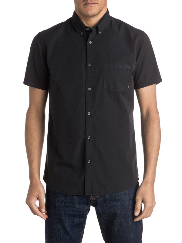0 Everyday Wilsden Short Sleeve Shirt  EQYWT03379 Quiksilver