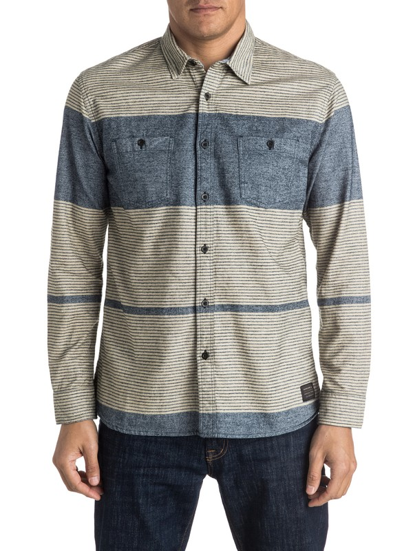 0 Retire Young Flannel Long Sleeve Shirt  EQYWT03383 Quiksilver