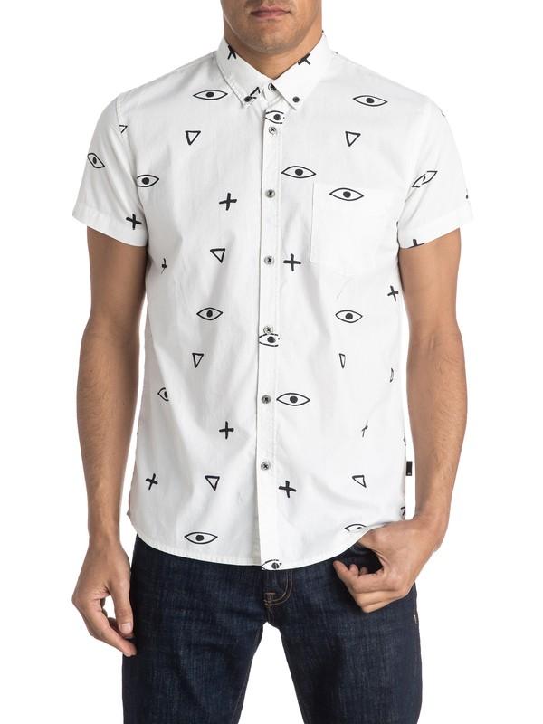 0 Eye For An Eye Short Sleeve Shirt  EQYWT03396 Quiksilver