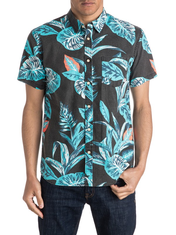 0 Aloe Short Sleeve Shirt  EQYWT03402 Quiksilver