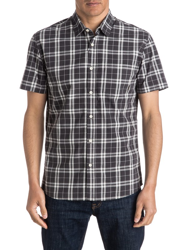 0 Everyday Check - Short Sleeve Shirt  EQYWT03411 Quiksilver