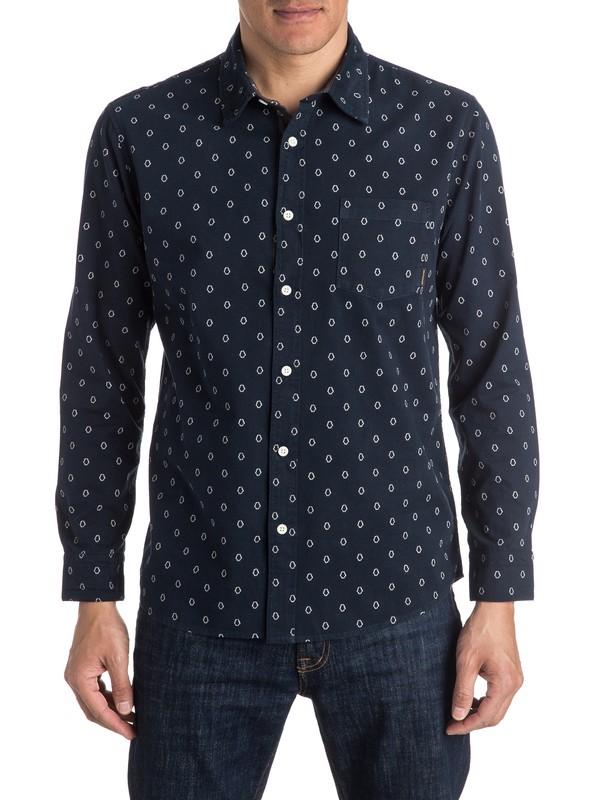 0 Everyday Mini Motif Long Sleeve Shirt  EQYWT03413 Quiksilver