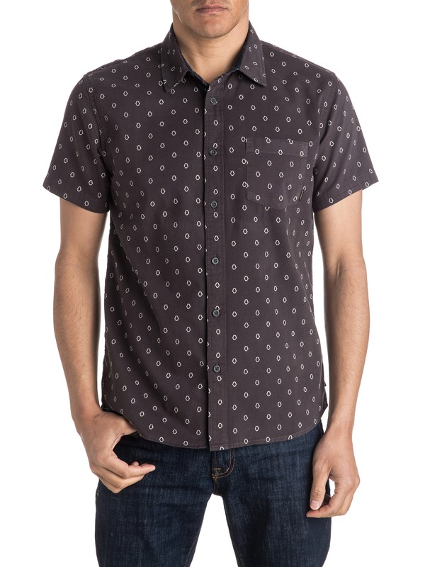 0 Everyday Mini Motif Short Sleeve Shirt  EQYWT03417 Quiksilver