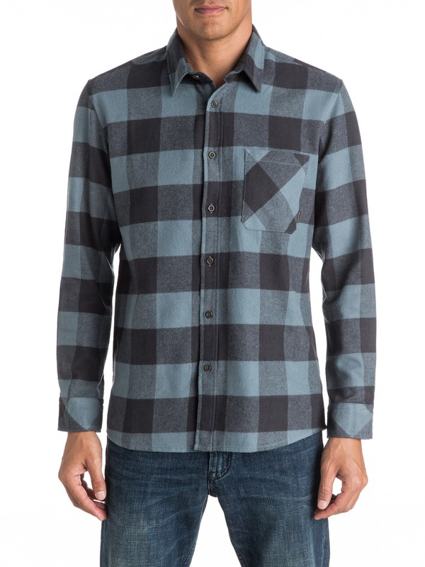 0 Motherfly Flannel - Long Sleeve Shirt  EQYWT03420 Quiksilver