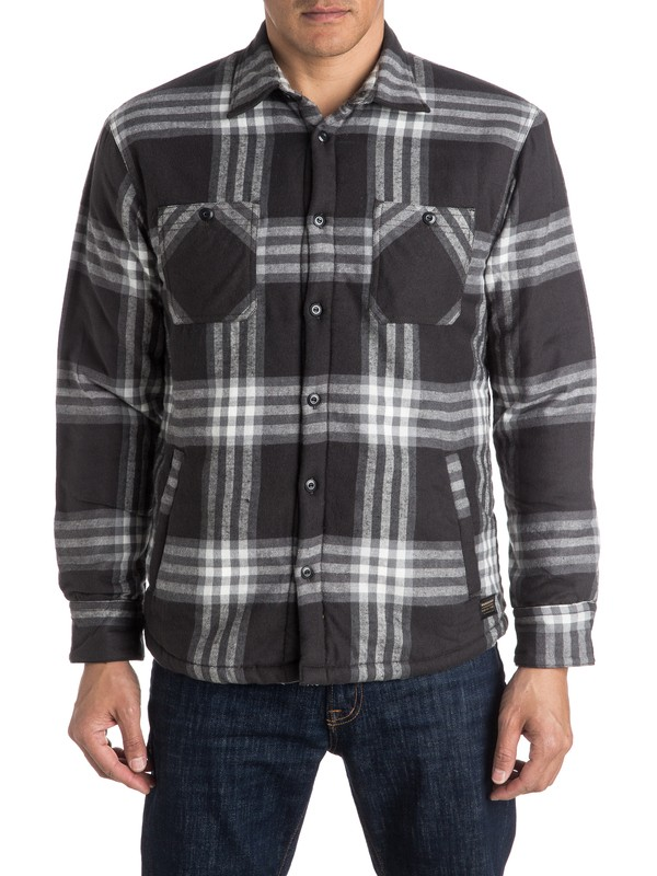 0 The Game Play Long Sleeve Shirt  EQYWT03427 Quiksilver