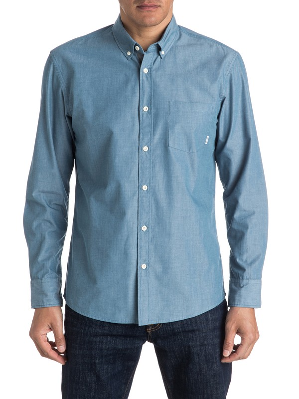 0 Everyday Wilsden Long Sleeve Shirt  EQYWT03430 Quiksilver
