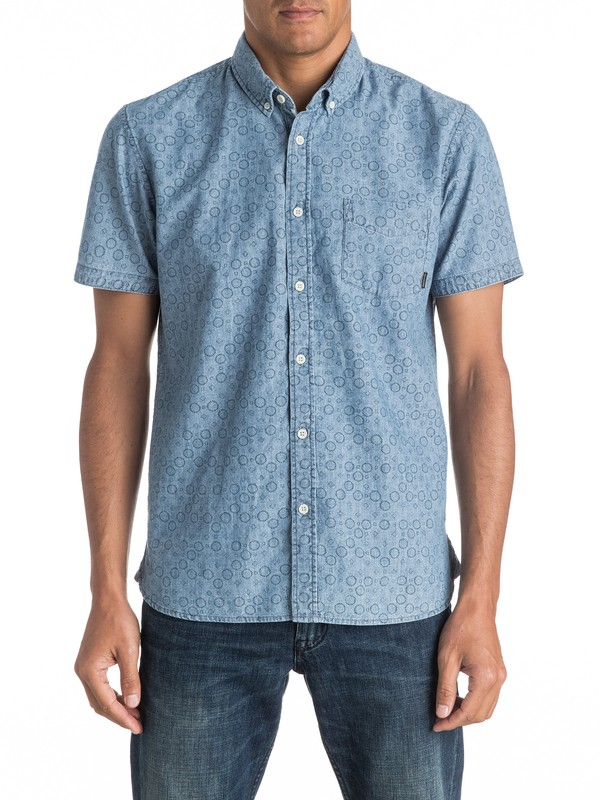 0 Spectrum Rips Short Sleeve Shirt  EQYWT03456 Quiksilver