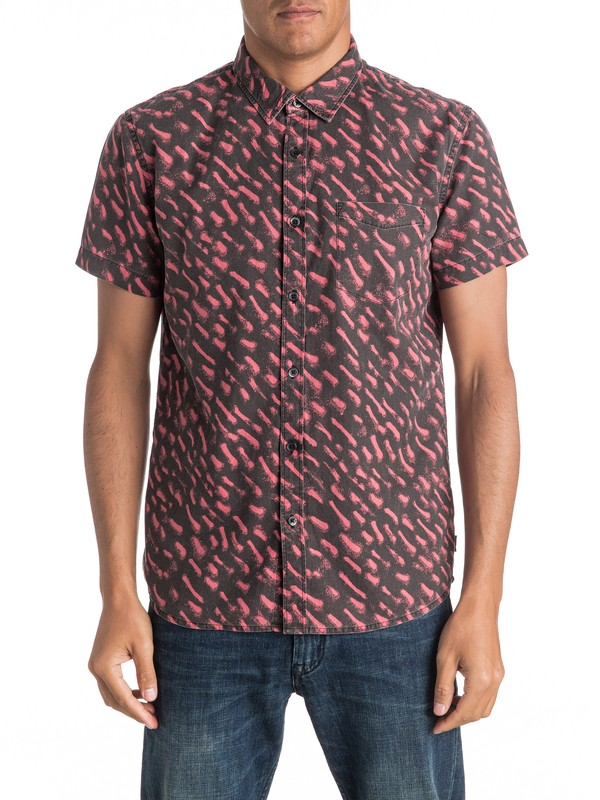 0 Renogade - Short Sleeve Shirt  EQYWT03469 Quiksilver