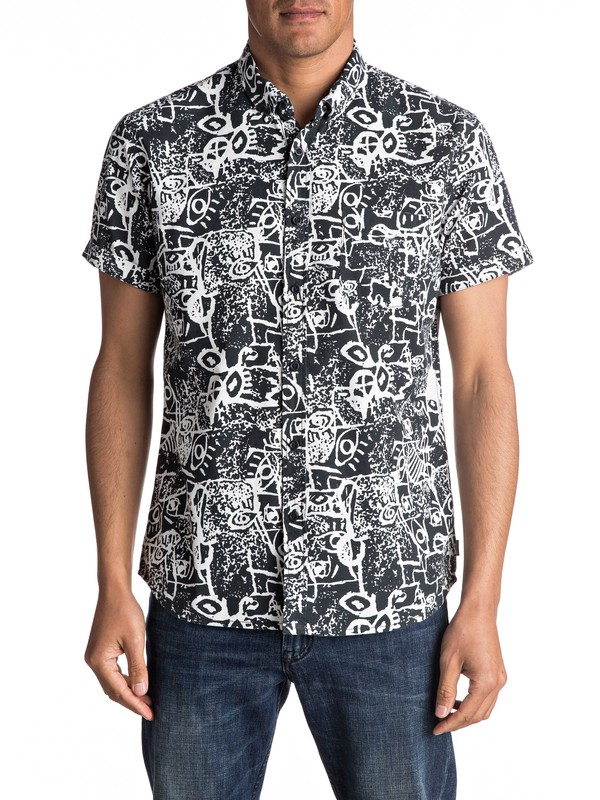 0 Hypnosis - Short Sleeve Shirt  EQYWT03490 Quiksilver