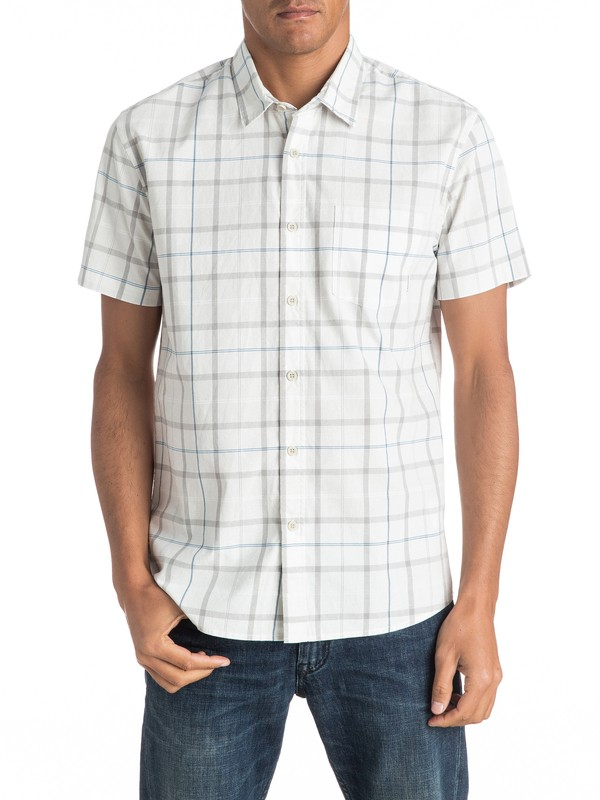 0 Everyday Check - Short Sleeve Shirt  EQYWT03492 Quiksilver