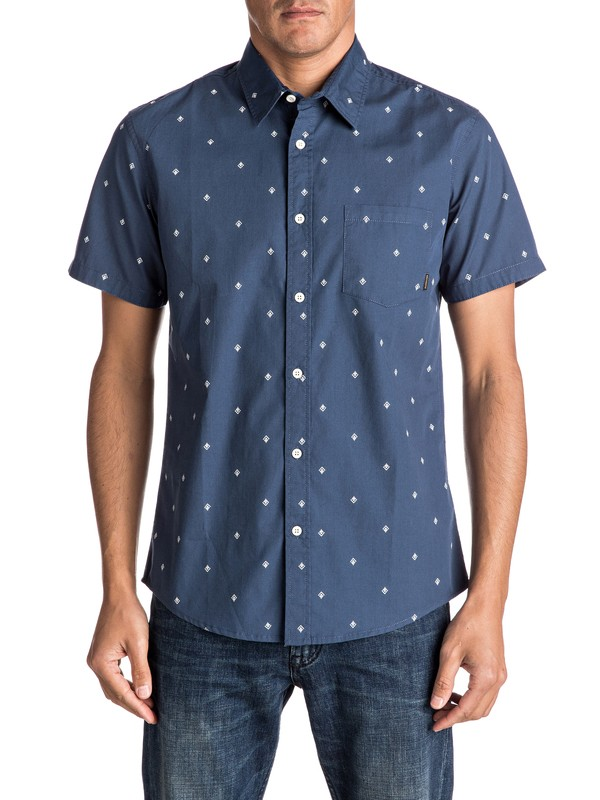 0 Everyday Mini Motif Short Sleeve Shirt  EQYWT03501 Quiksilver