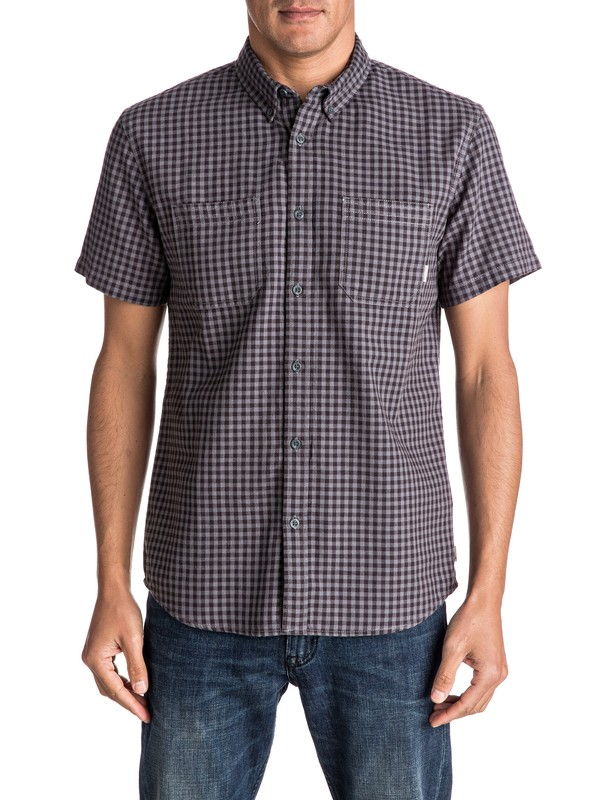 0 Forte Night Short Sleeve Shirt  EQYWT03502 Quiksilver