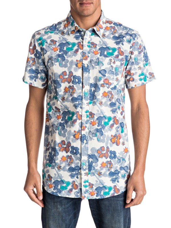 0 Camisa Manga Corta Only Flowers  EQYWT03507 Quiksilver