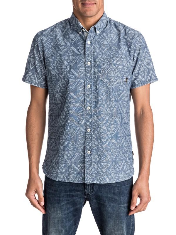 0 Spectrum Tracks - Short Sleeve Shirt  EQYWT03509 Quiksilver
