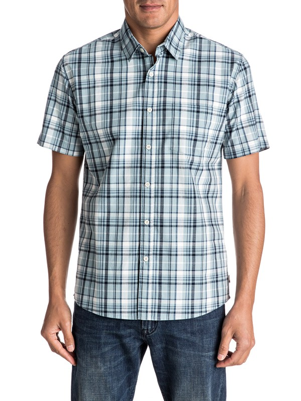 0 Everyday Check Short Sleeve Shirt  EQYWT03519 Quiksilver