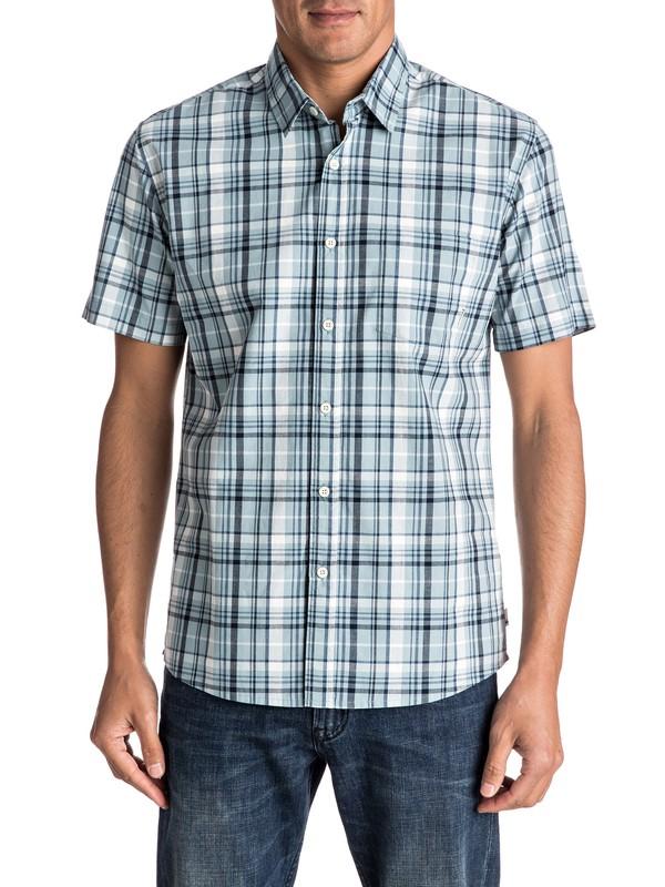 0 Camisa de Manga Corta y Cuadros Everyday  EQYWT03519 Quiksilver