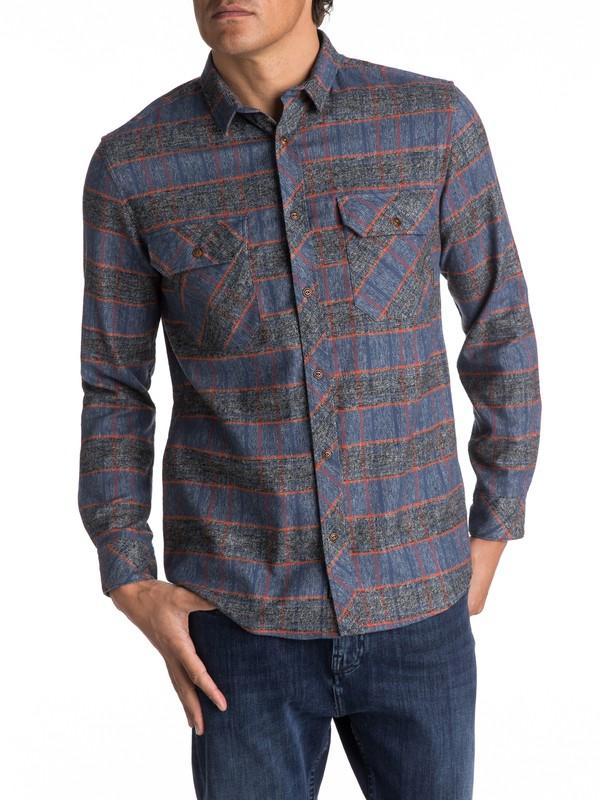 0 River Back Flannel Long Sleeve Shirt  EQYWT03532 Quiksilver