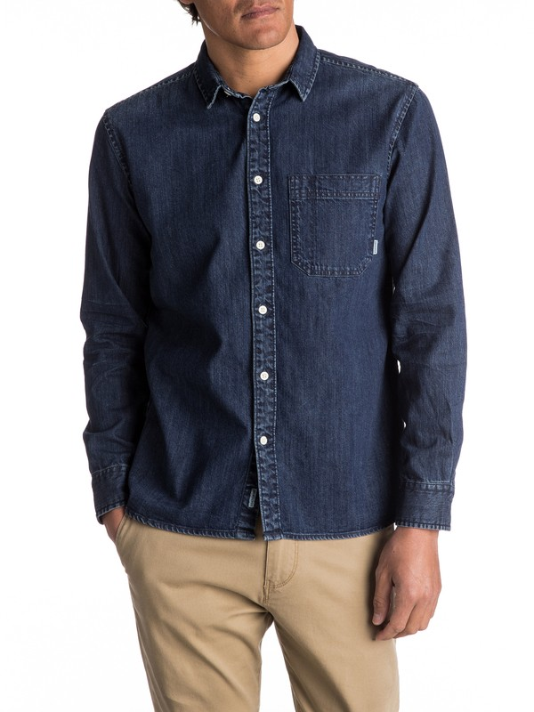 0 Denim Sula Long Sleeve Shirt  EQYWT03553 Quiksilver