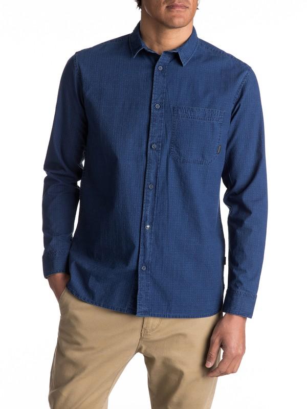 0 Indigo Rise - Longsleeve Shirt Blue EQYWT03558 Quiksilver