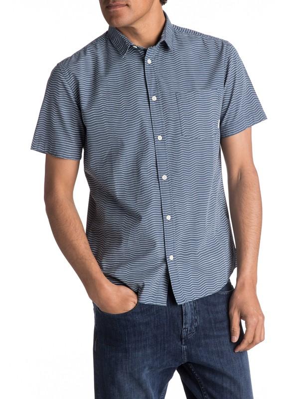0 Heat Wave Short Sleeve Shirt  EQYWT03576 Quiksilver
