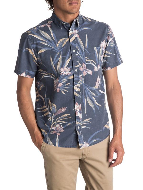 0 Men's Longa Locka Short Sleeve Shirt  EQYWT03608 Quiksilver