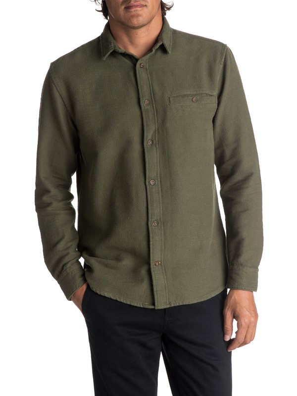 0 The Griggs - Long Sleeve Shirt  EQYWT03618 Quiksilver