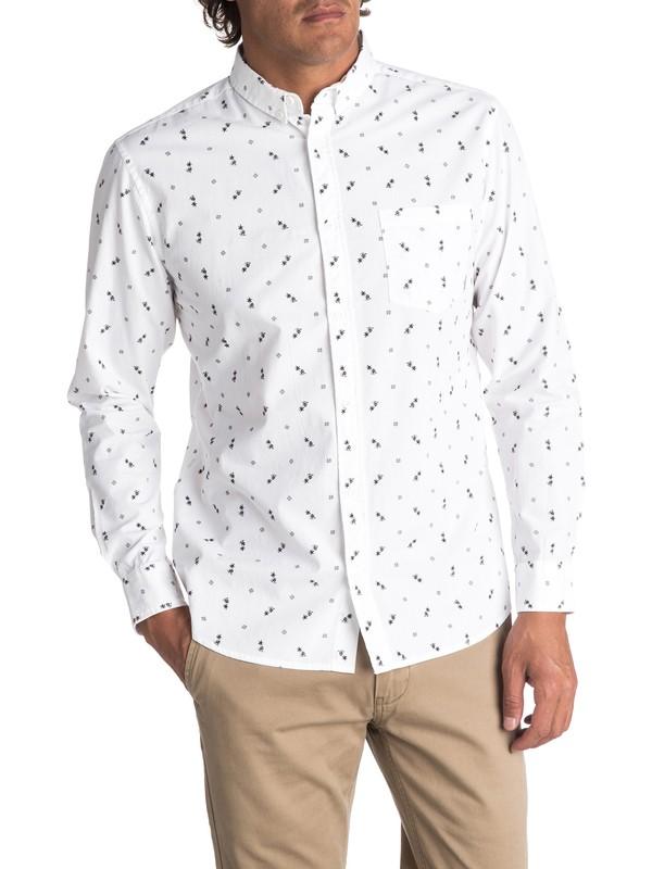 0 Men's Da Huts Long Sleeve Shirt  EQYWT03627 Quiksilver