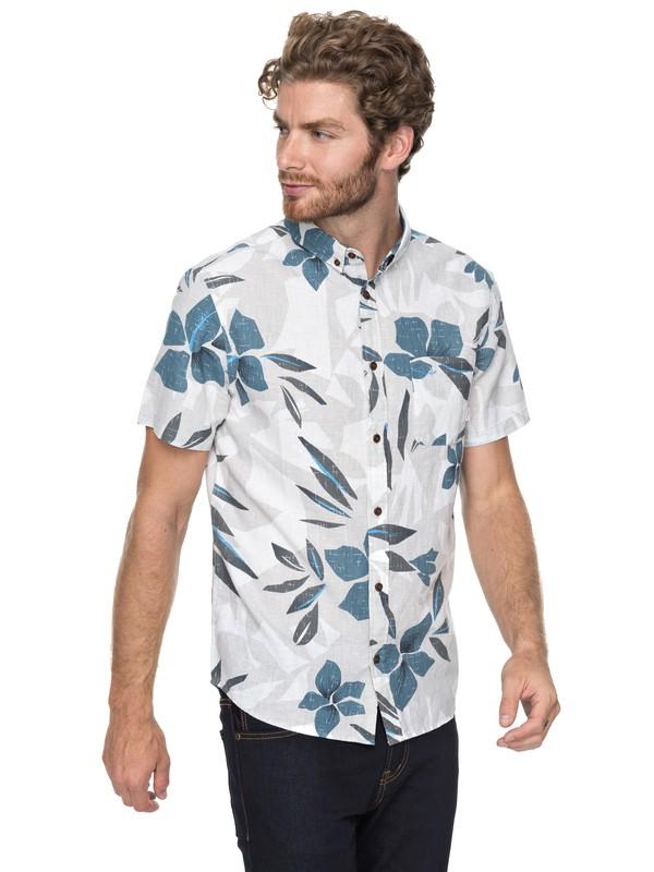 0 Quiksilver - Overhemd met Korte Mouwen Gray EQYWT03647 Quiksilver