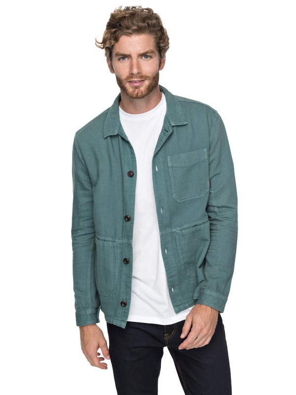 0 Water Legacy - Chemise workwear pour Homme  EQYWT03656 Quiksilver