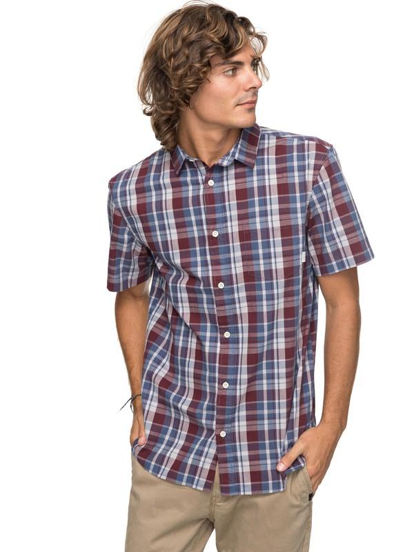 0 Everyday Check Short Sleeve Shirt  EQYWT03658 Quiksilver