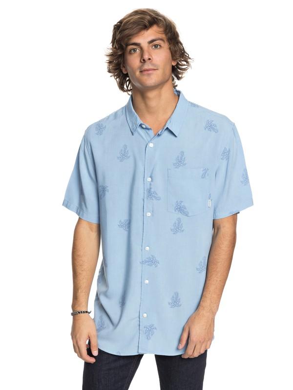 0 Palm Vibration - Short Sleeve Shirt  EQYWT03691 Quiksilver
