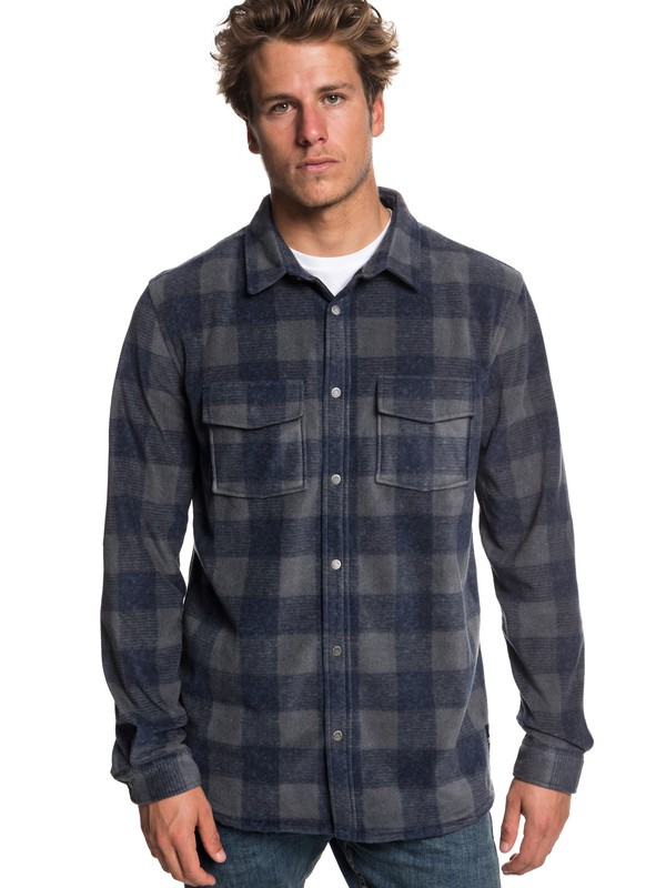 0 Surf Days Long Sleeve Shirt Blue EQYWT03731 Quiksilver