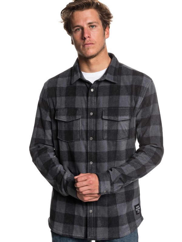 0 Surf Days Long Sleeve Shirt Black EQYWT03731 Quiksilver