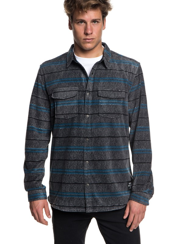 0 Surf Days - Long Sleeve Shirt for Men Black EQYWT03731 Quiksilver