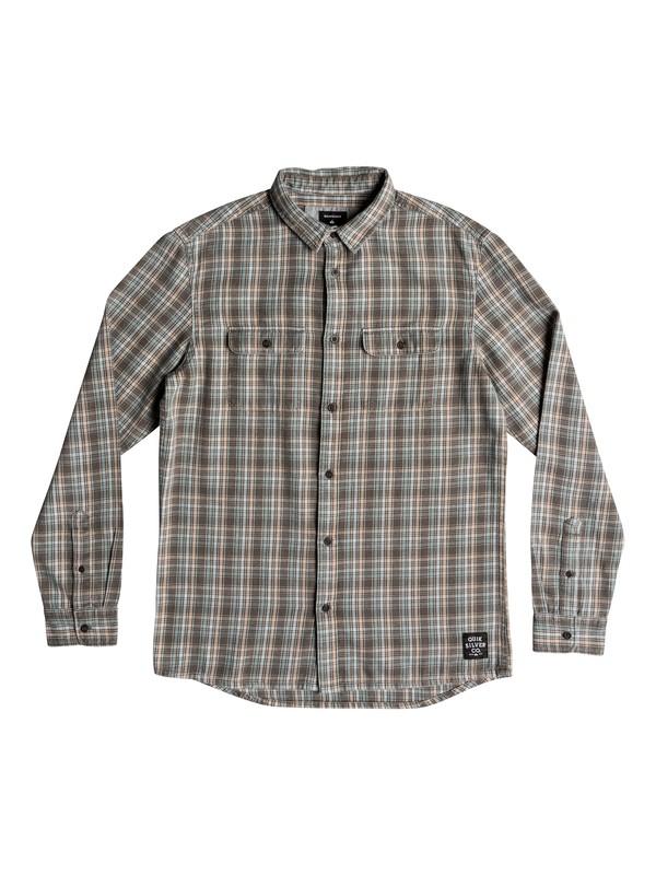 0 Fuji Tang Long Sleeve Shirt Grey EQYWT03746 Quiksilver