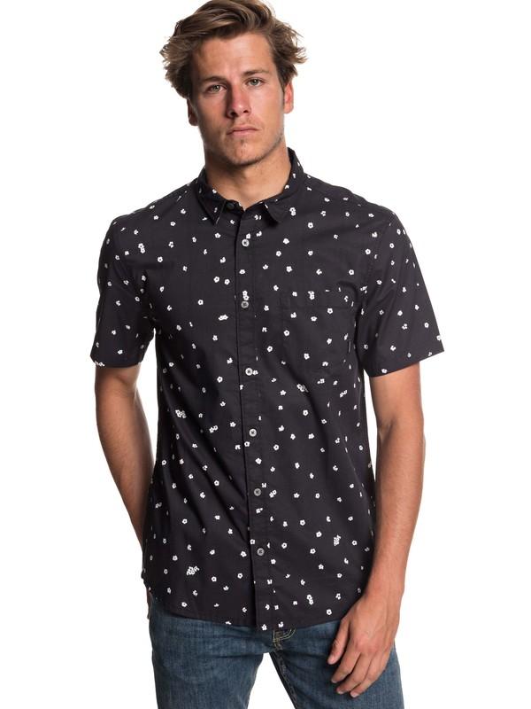 0 Cherry Pop Short Sleeve Shirt Black EQYWT03766 Quiksilver