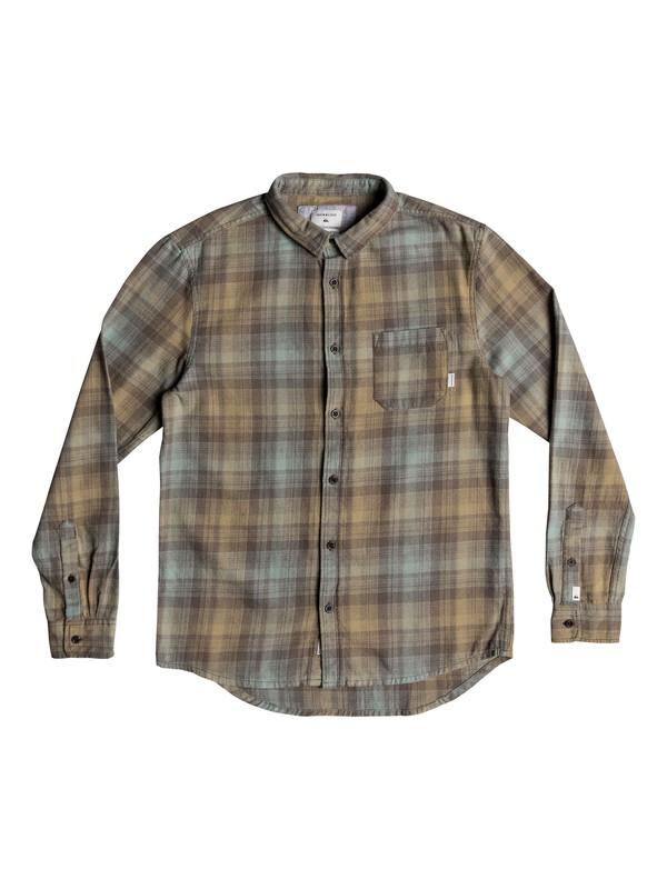 0 Fatherfly Long Sleeve Shirt Grey EQYWT03768 Quiksilver