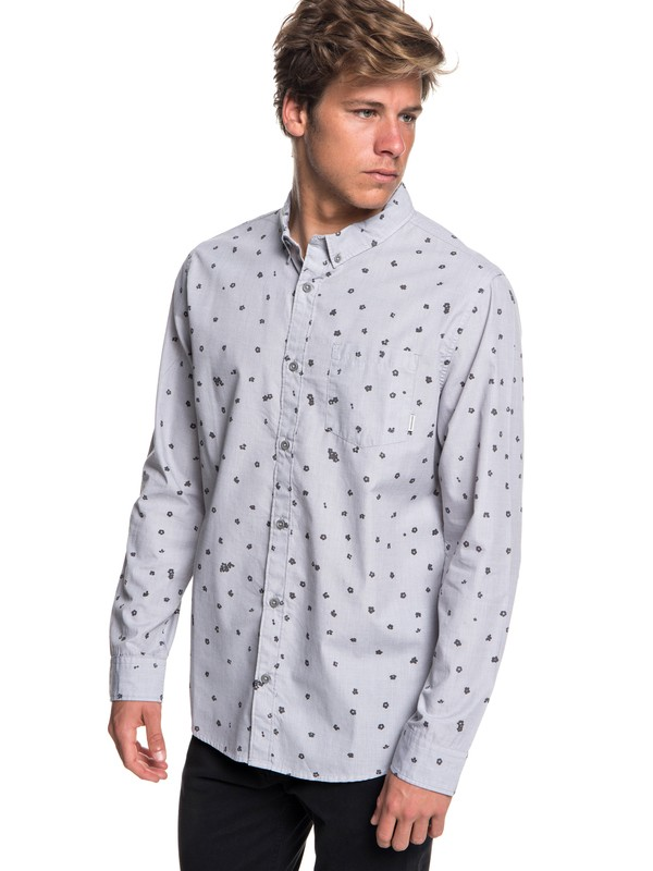 0 Valley Groove Long Sleeve Shirt Black EQYWT03772 Quiksilver
