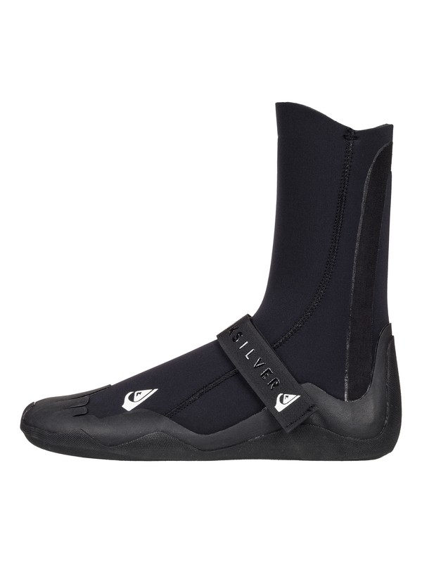 0 5mm Syncro Round Toe Surf Boots Black EQYWW03019 Quiksilver